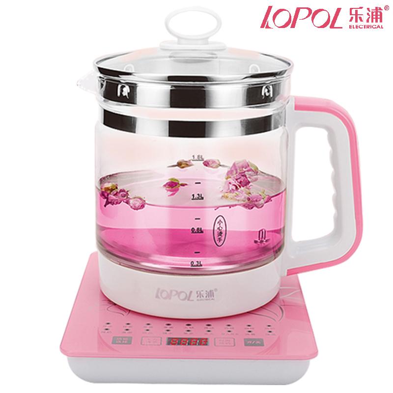 养生壶电热烧水壶家用玻璃保温一体全自动电壶煮茶器断电透明煲水