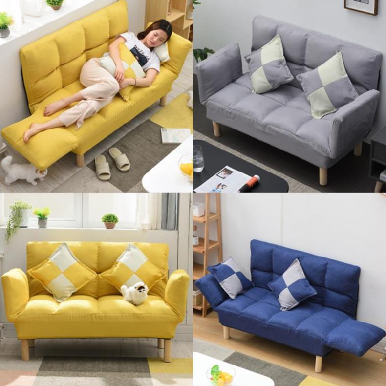 店铺可移动沙发沙发转角床迷你小寝室沙发椅床户型贵妃结实充气可