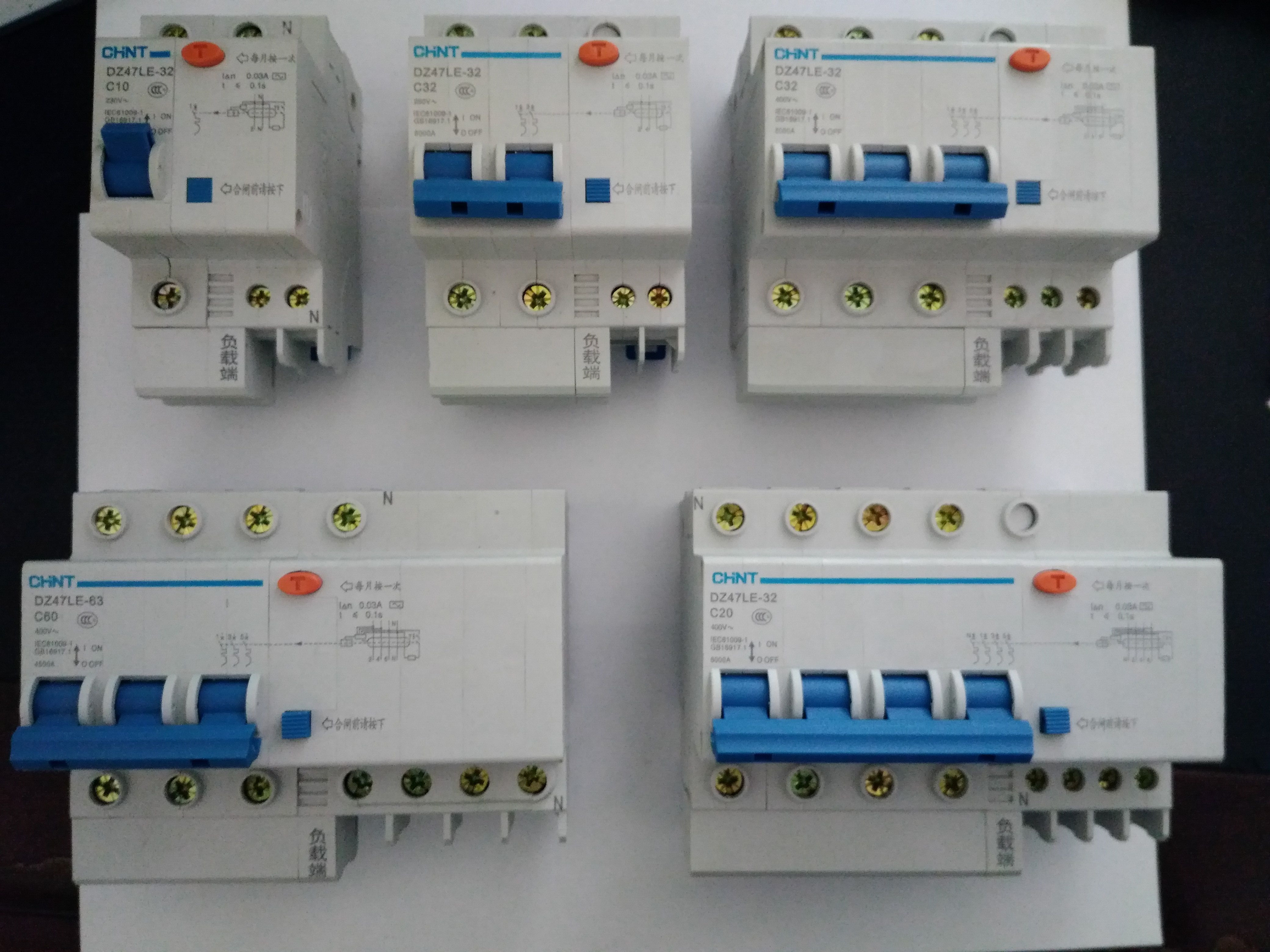 Usd 841 Zhengtai Circuit Breaker Leakage Protector From Integrated Chinese Wholesalers Manufacturers Protection Dz47le 1p 2p 3p 4p 6a 10a 20a 60a