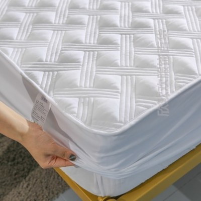 Water single-piece quilt cover breathable latex bed sheet cotton thick non-slip mattress special bed sheet simple water-proof bed cover
