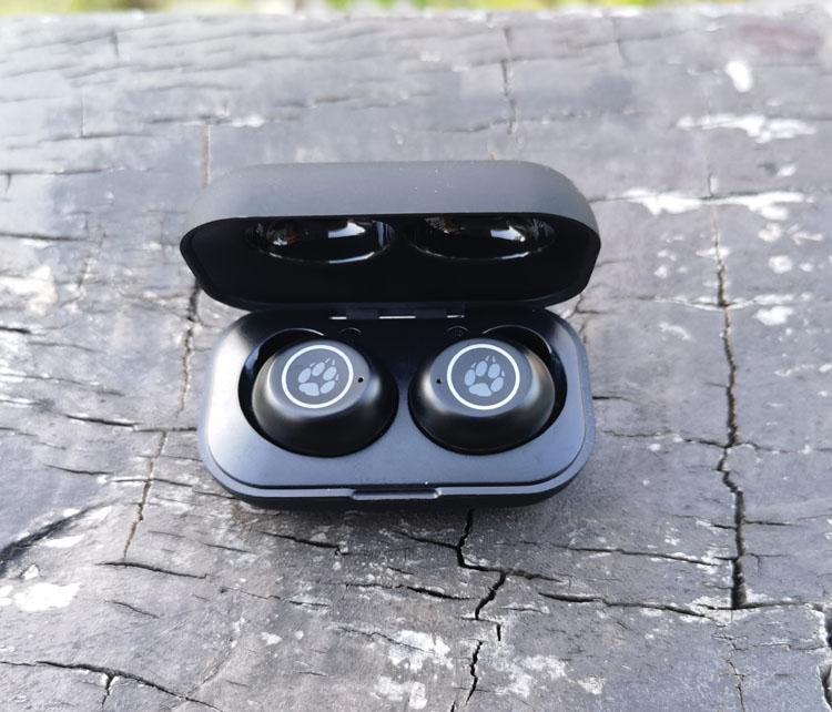 跨境电商尾货 黑狐真无线TWS蓝牙耳机入耳式hifi重低音通话降噪 运动健身 66包邮