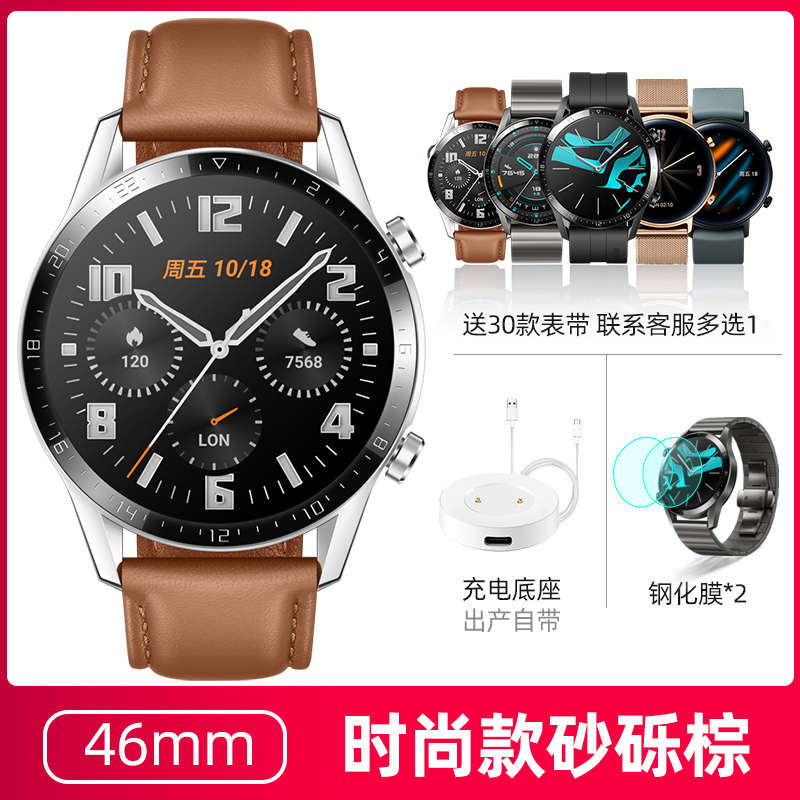 GT2【46mm Fashion-Brown】+ Free gift