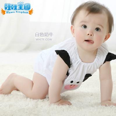 纯棉男女宝宝连体衣