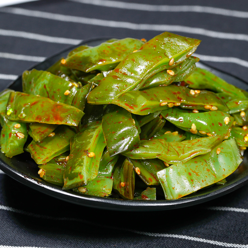亿海裙带菜梗段5袋香辣海白菜即食海藻菜大连海裙菜海带丝下酒菜