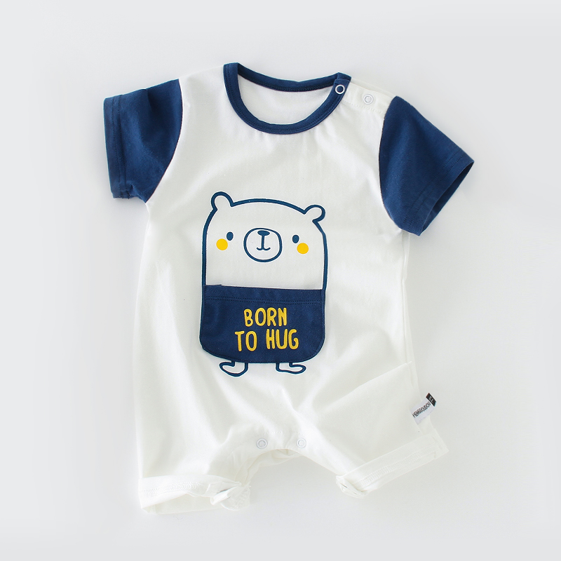 Short Sleeve Blue Bear