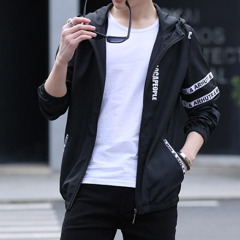 2019夏季防晒衣男男装女士连帽外套韩版皮肤潮流衣防晒服夹克
