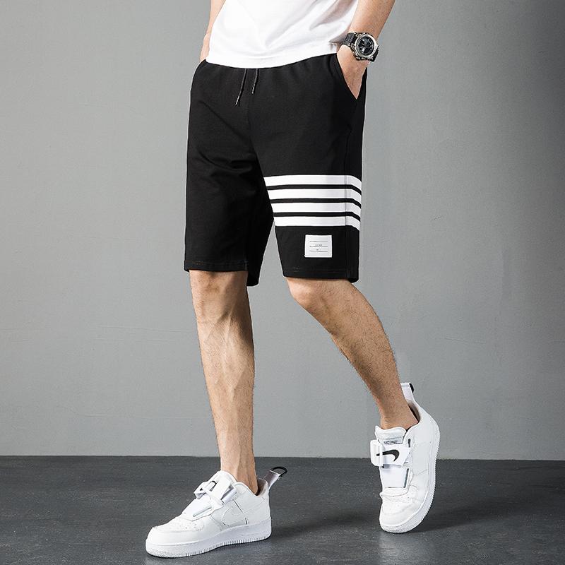 短裤男士五分裤夏季薄款纯棉运动沙滩裤