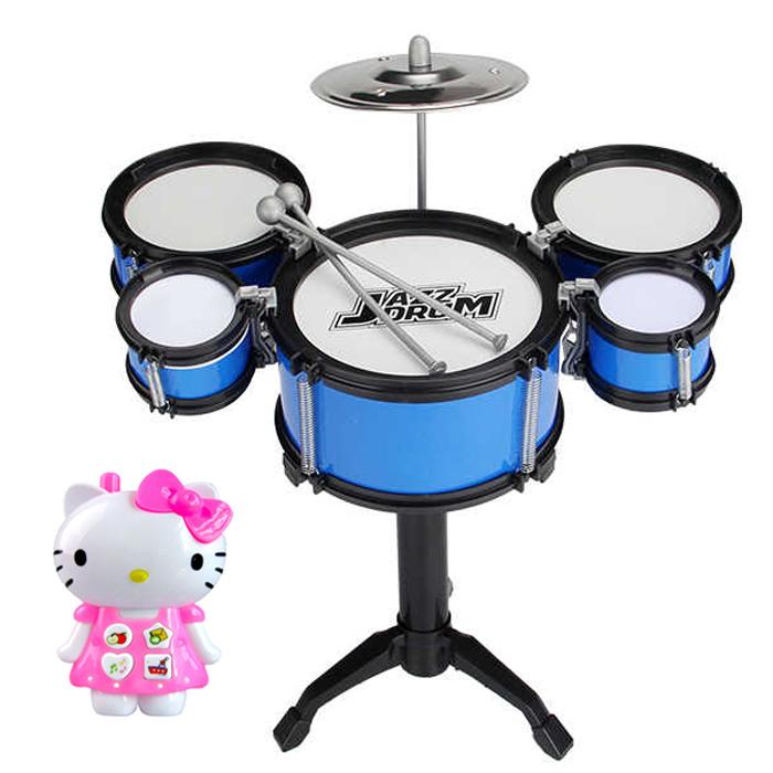[Trẻ em 5 trống trống] Trẻ em giáo dục sớm câu đố trống trống mô phỏng đồ chơi bộ gõ