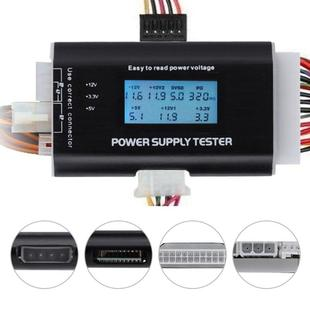 LCD Display PC Computer Power Supply Tester Checker ATX Meas