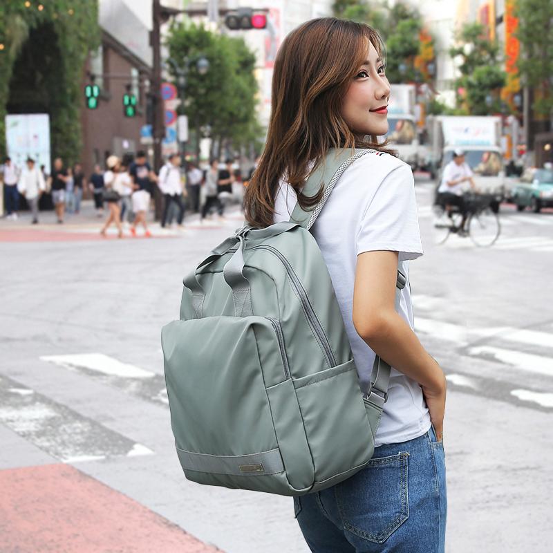 双肩包女大学生书包背包版大容量旅游出差电脑包百搭休闲旅行日韩