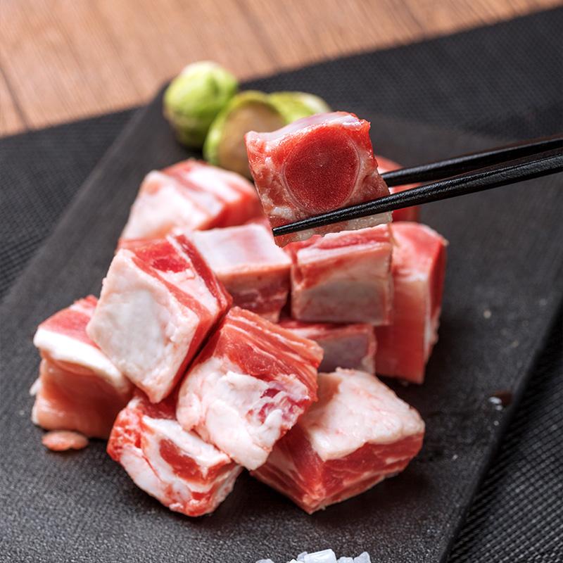 华正精选肋排块600g猪排骨肋骨肋排红烧排骨糖醋排骨汤