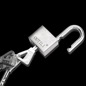 OUTILI户外仓库大门防盗锁配一把钥匙