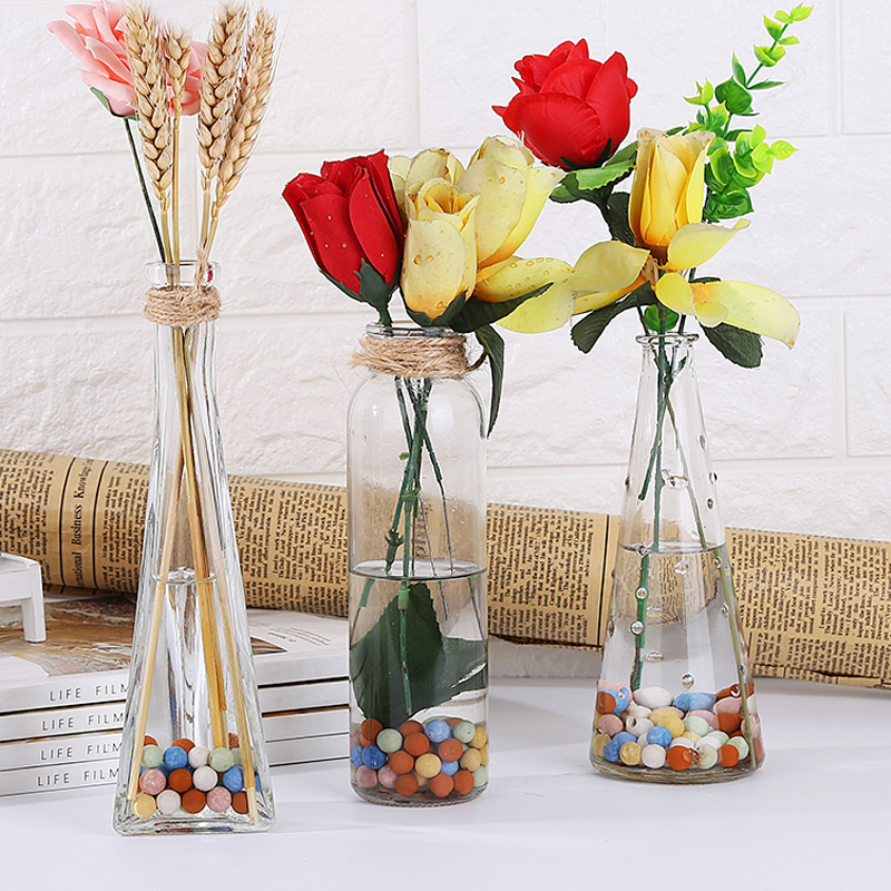 Usd 455 Transparent Glass Bottle Hydroponic Plant Container Green