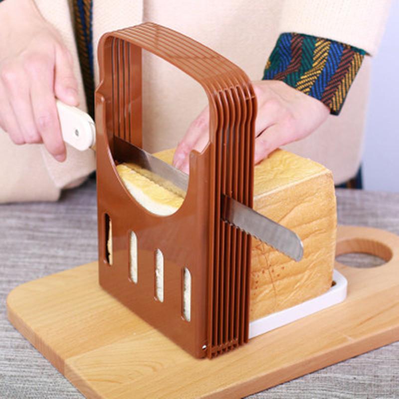 【烘焙神器】日本烘焙用品面包切片器