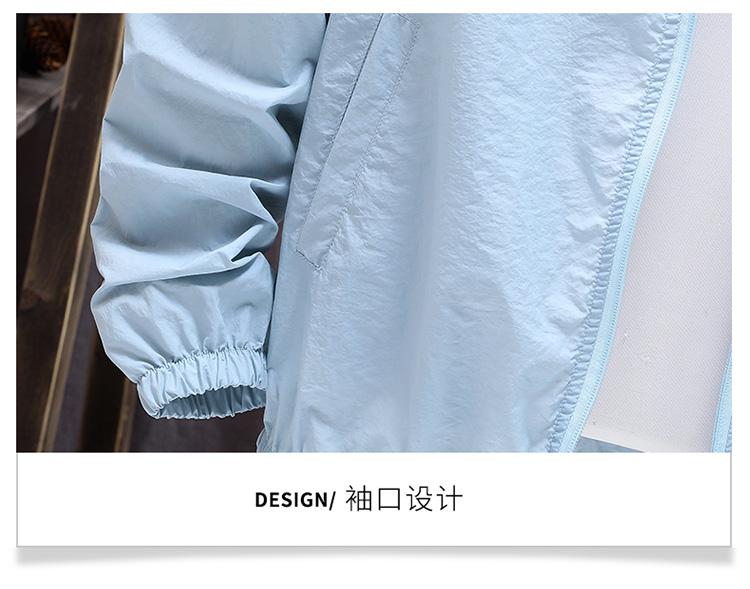 量大优惠挂拍夏季新款韩版潮流外套夹克男连帽透气防晒衣F03-P25