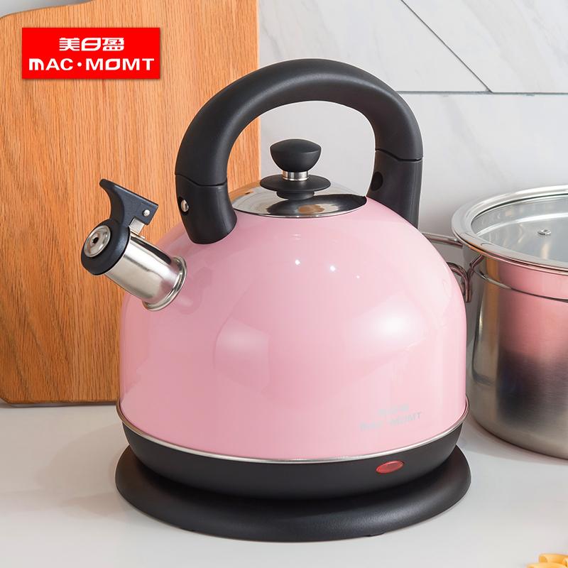 燒水壺電熱水壺304不銹鋼即熱水壺自動家用開水壺防干燒大容量