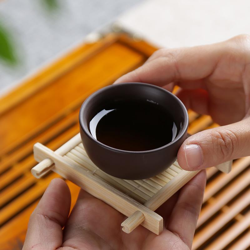 Ya xin purple sand tea sets ceramic kung fu tea cup teapot tea tea taking of a complete set of household contracted