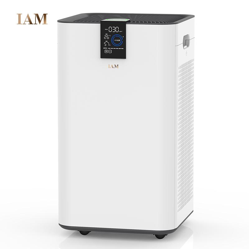 英国IAM空气净化器家用卧室内 除甲醛除菌二手味静音负离子KJ580F