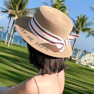 小清新度假出游帽子女夏天沙滩帽