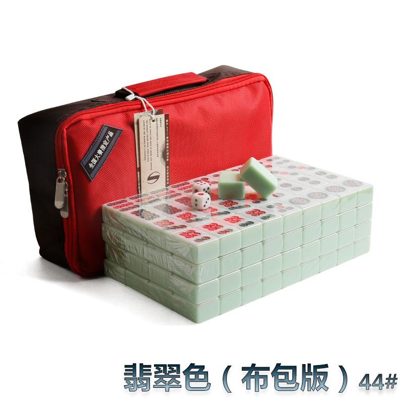 Mahjong vận chuyển tay thứ nhất cọ xát nhà lớn 42mm vừa 72 tờ Tứ Xuyên Mahjong 108 tờ Quảng Đông 136 thẻ - Các lớp học Mạt chược / Cờ vua / giáo dục