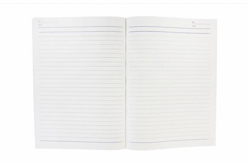 得力7650笔记本b5软面抄简约小笔记本加厚大号本子办公学生单本