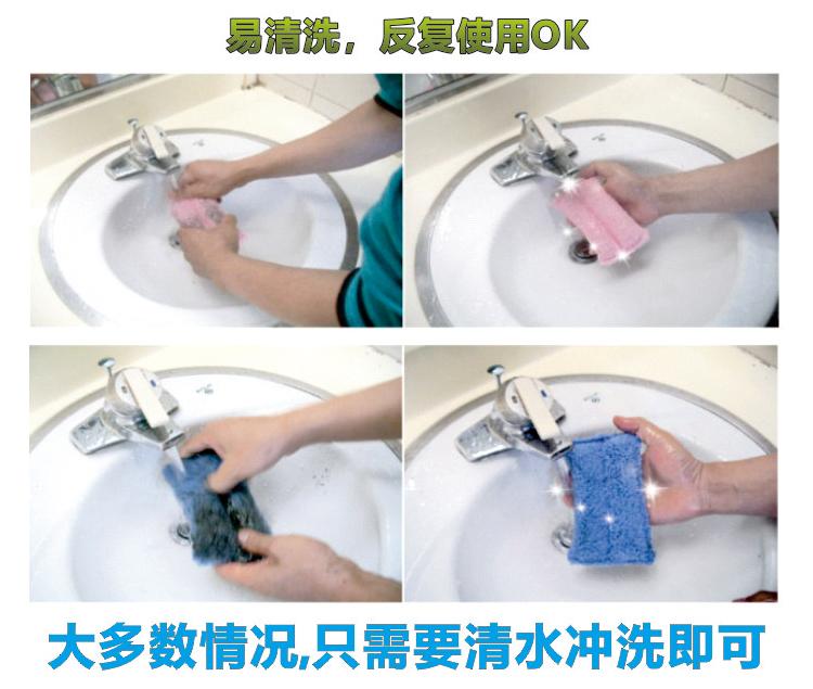 韩国进口卡奇魔平板拖把免手洗家用拖地神器一拖净拖布擦车抹布组详细照片