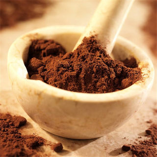Five Crowns - Malaysia produces pure natural cocoa butter baked cocoa powder 1kg dirty bag of low-sugar chocolate powder