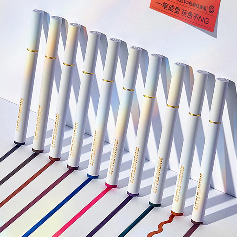 【小奥汀旗舰店】10色眼线液笔
