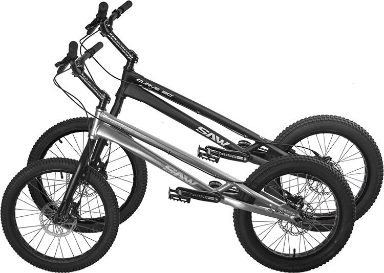 SAW SAWBIKE 20-дюймовый альпинистский автомобиль, восхождение на велосипеде