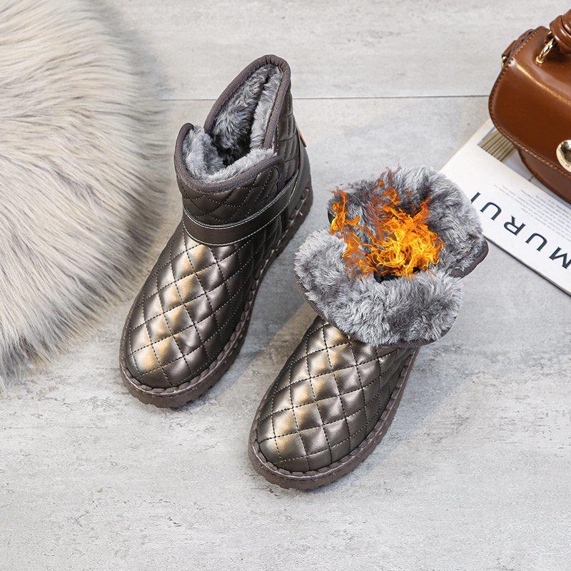 (过期)寄冬旗舰店 2020年秋季新款平底防滑冬季雪地靴 券后39.9元包邮