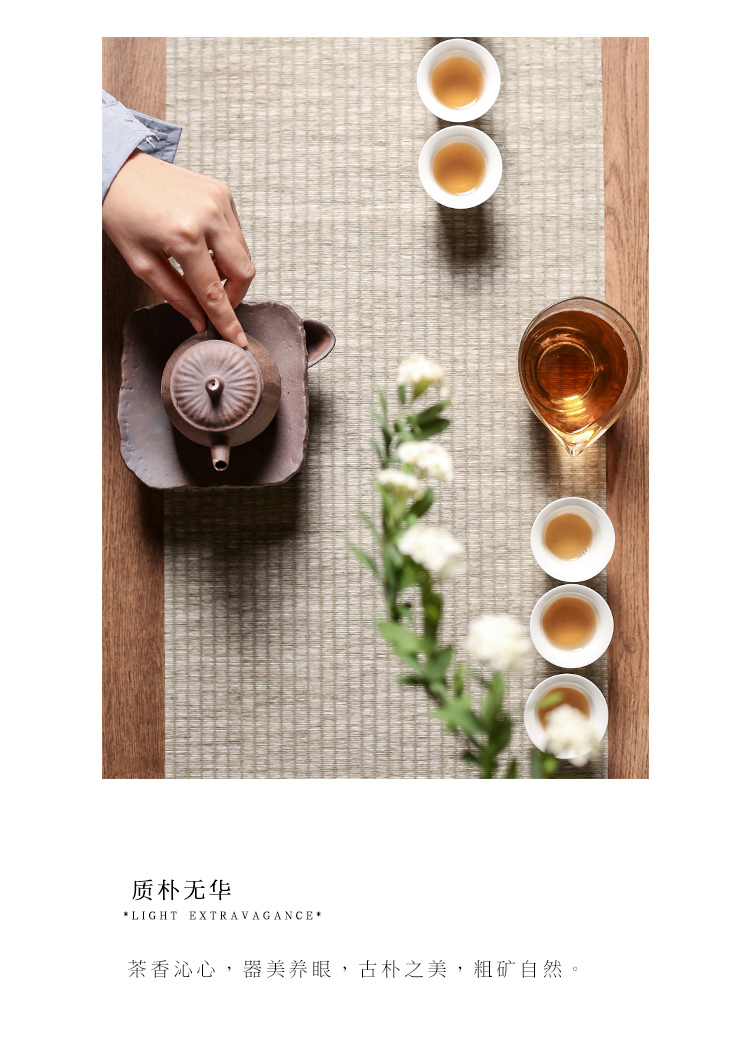 """The Self - """"appropriate content Japanese rock, mud manual teapot coppering. As silver teapot jingdezhen ceramics single pot of kung fu tea set is small"""