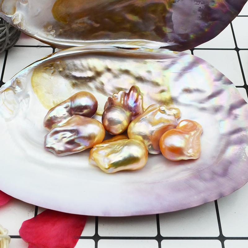Природный пресноводный барокко с жемчужинами чуждый с жемчужинами белый Pairing nude beads DIY серьги серьги подвеска