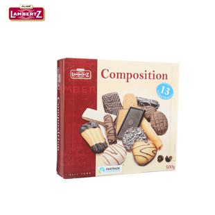 【德国进口】金尊巧克力曲奇饼干