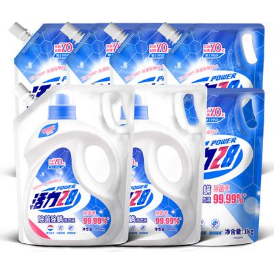 活力28除菌除螨洗衣液深层清洁16斤家庭囤货促销组合装手洗机洗