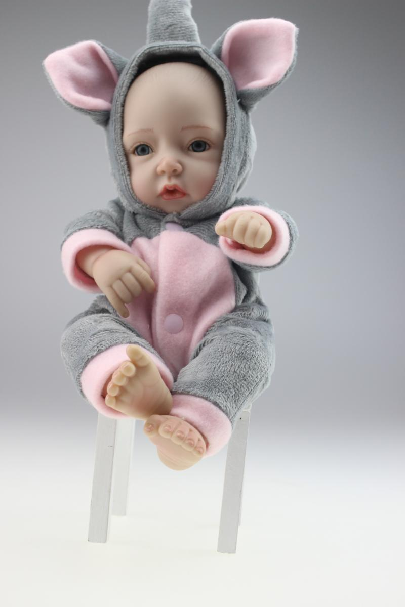 11inch reborn full body silicone baby Birthday gift