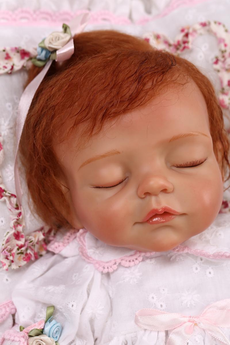 ⑧new Kawaii 43cm Bebe ⊰ Reborn Reborn Baby Dolls Lifelike