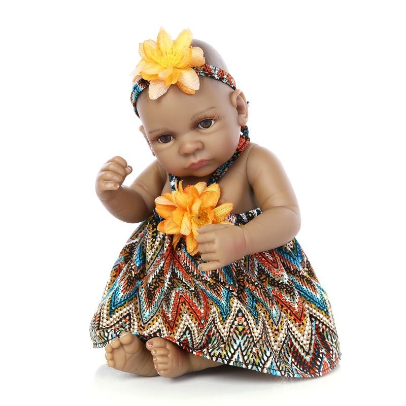 11black african american reborn baby dolls silicone lifelike handmade negle Images