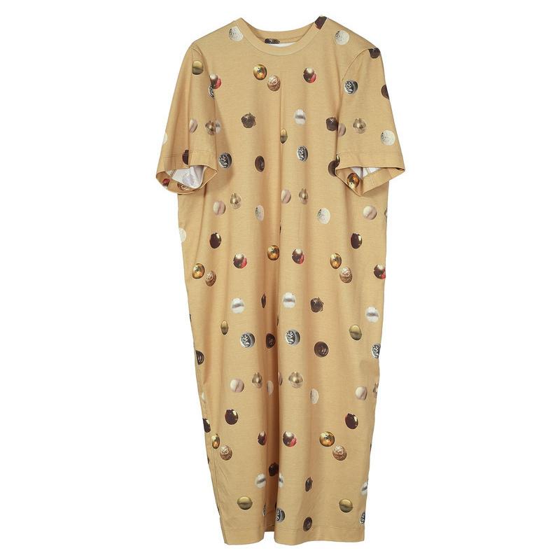 [Trung tâm mua sắm với đoạn] JNBY Giang Nam thường dân 2018 mùa hè mới in retro dress nữ 5I3503610