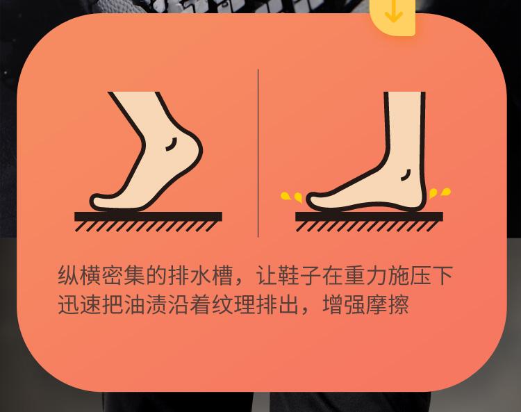 Giày đầu bếp chống nước chống trượt nhà bếp giày đặc biệt sau nhà bếp giày công sở giày mưa siêu nhẹ mềm giày chống dầu chống bẩn