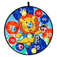 儿童飞镖粘球靶投掷黏黏球玩具亲子户外运动幼儿园室内吸盘粘粘球