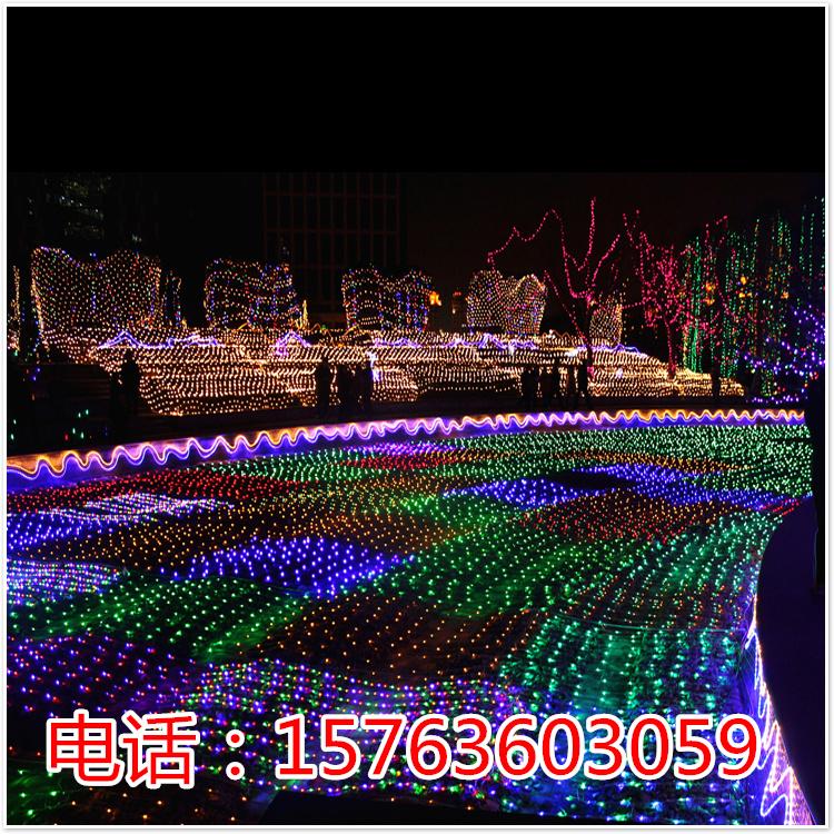 灯海灯光秀舞台灯光秀梦幻灯光秀大型灯光造型公园灯光活动灯光展