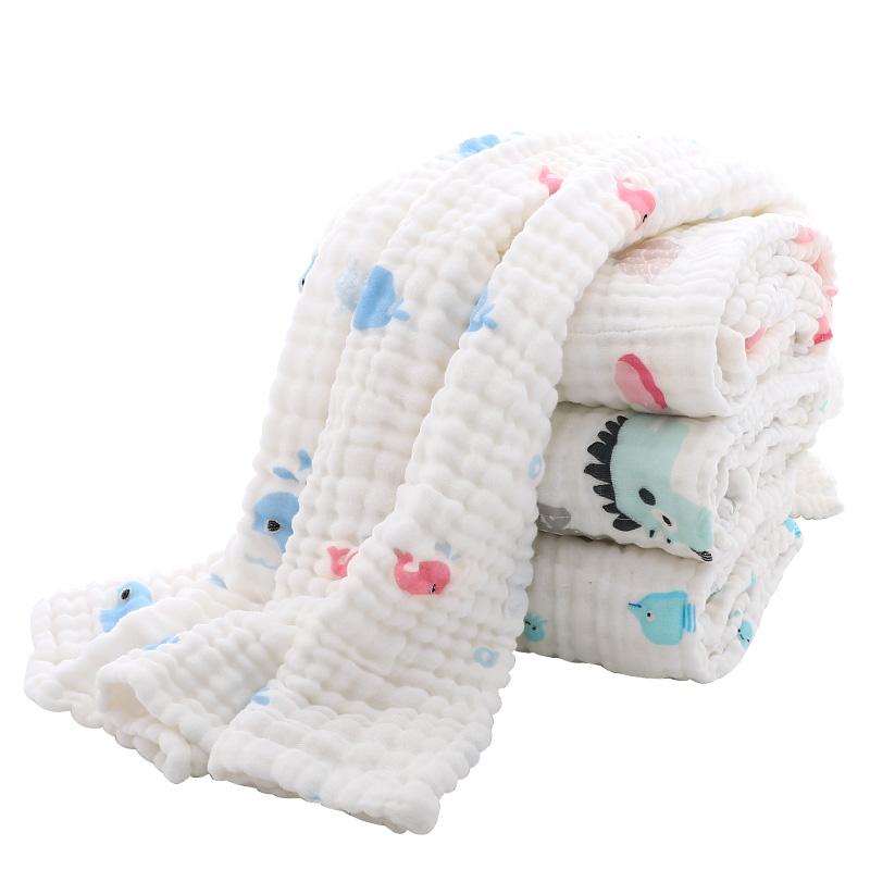 嬰兒浴巾純棉紗布兒童夏季空調被