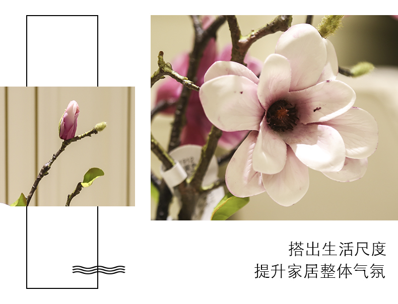 Simple simulation demand flower tea table table inserted floral furnishing articles flowers, dried flowers sitting room decoration home decoration