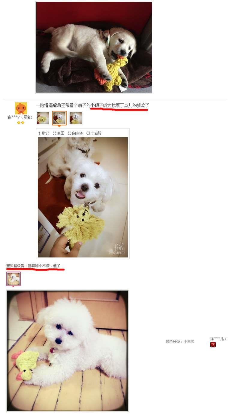 中國代購 中國批發-ibuy99 宠物玩具绳结玩具磨牙洁齿咬绳泰迪贵宾小鹿编织玩偶小狗玩具包邮
