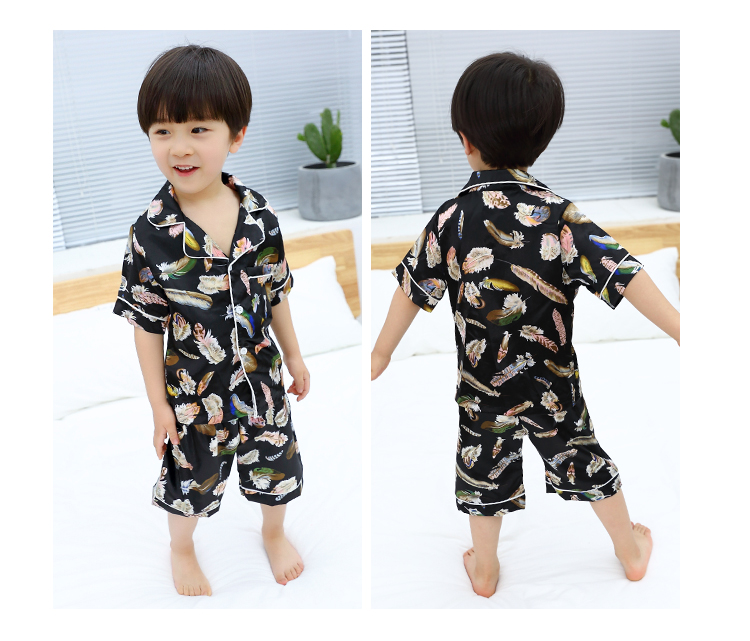 Summer pajamas are comfortable, simple, temperament, personality, leisure, slim and slim, 2018 summer suit.
