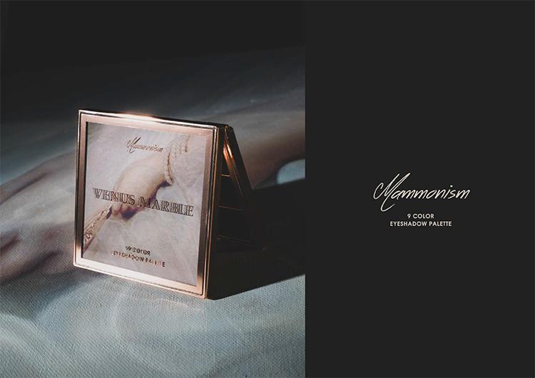 浪漫拜金主义眼影盘维纳斯二代现实唯美大理石九色详细照片