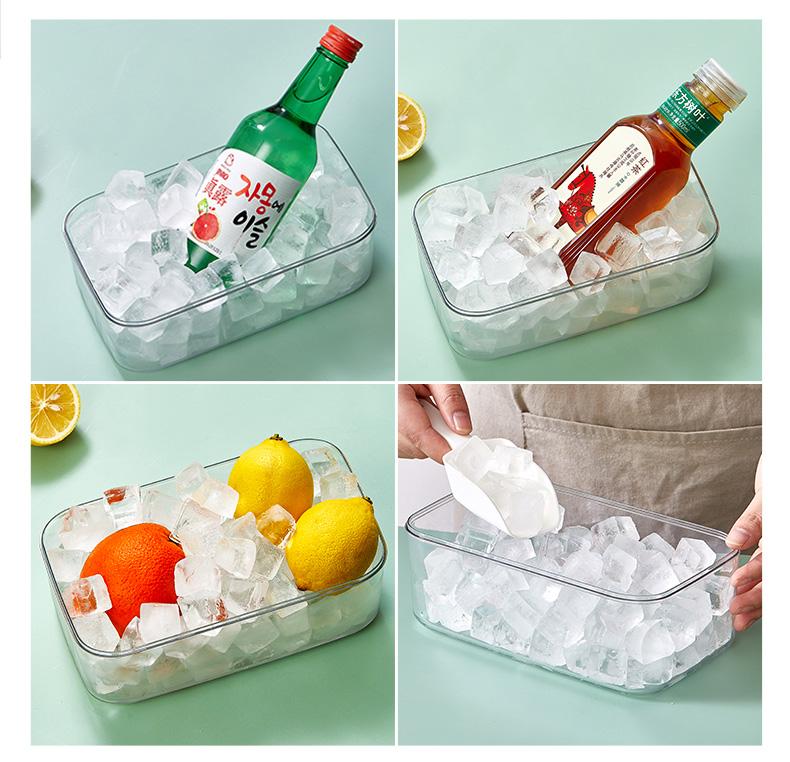 冰块模具 硅胶冰格制冰模具 图4