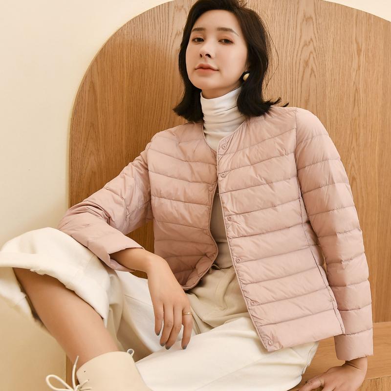 2020新款修身时尚轻薄羽绒服,选用优质白鸭绒,更保暖,更蓬松,更洁净