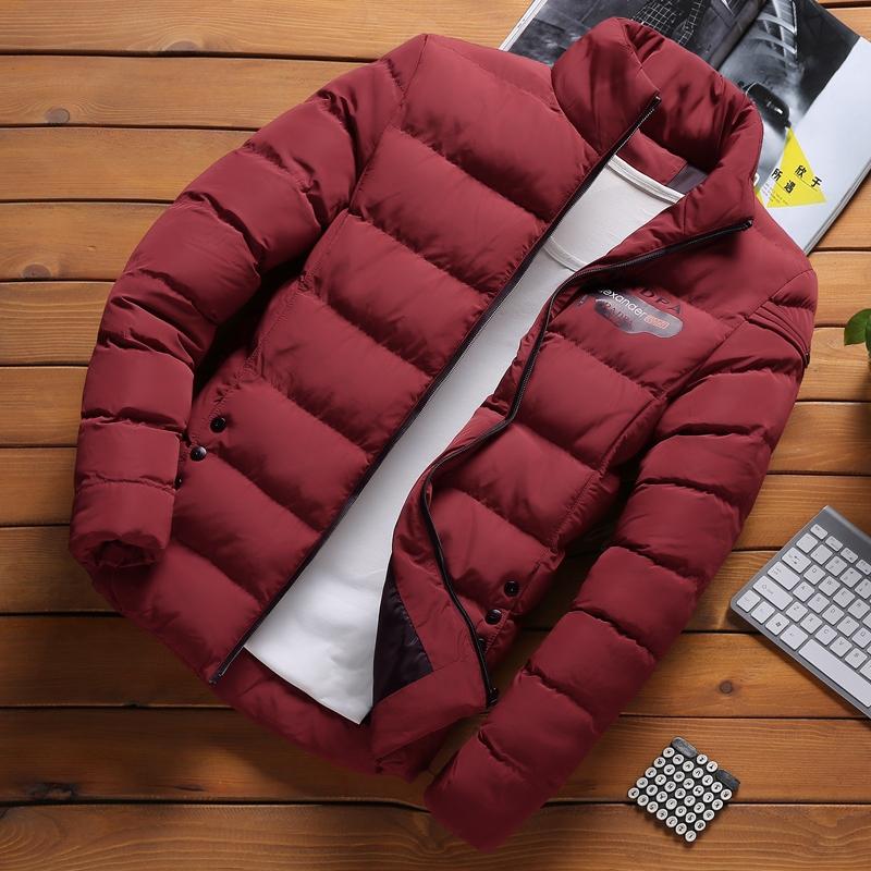 男士羽绒棉服冬季2019新款轻薄短款韩版潮流帅气潮牌加厚冬装外套
