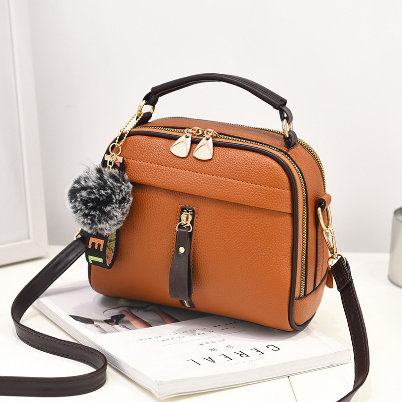 Small bag female bag 2018 new water-proof and durable fashion handbags slung shoulder bag small round bag